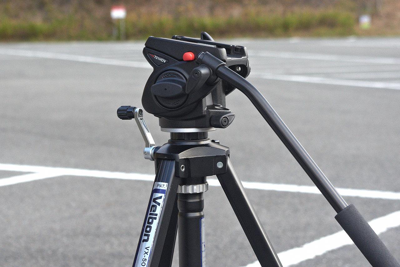 野鳥撮影に適したビデオ雲台