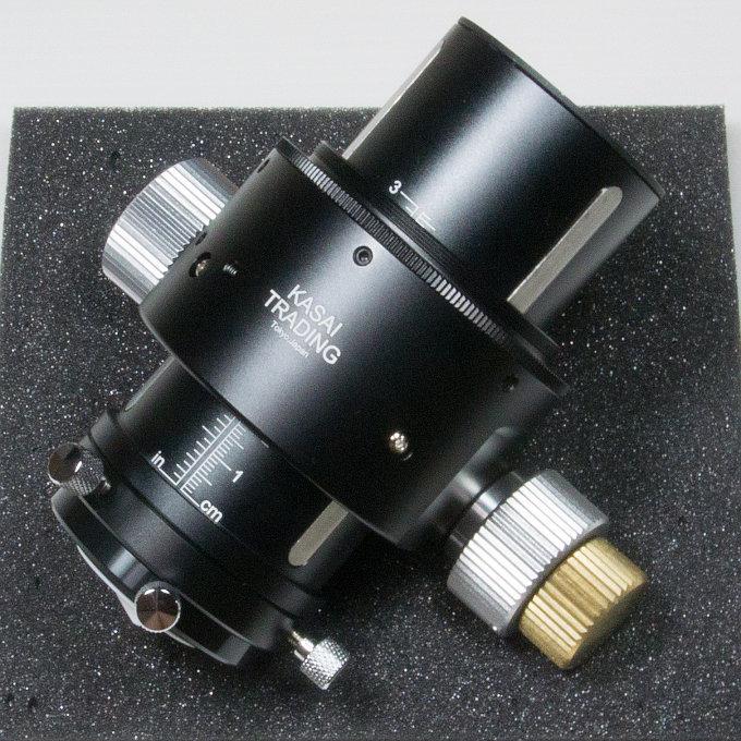 高機能DXマイクロフォーカス接眼部の機材写真画像